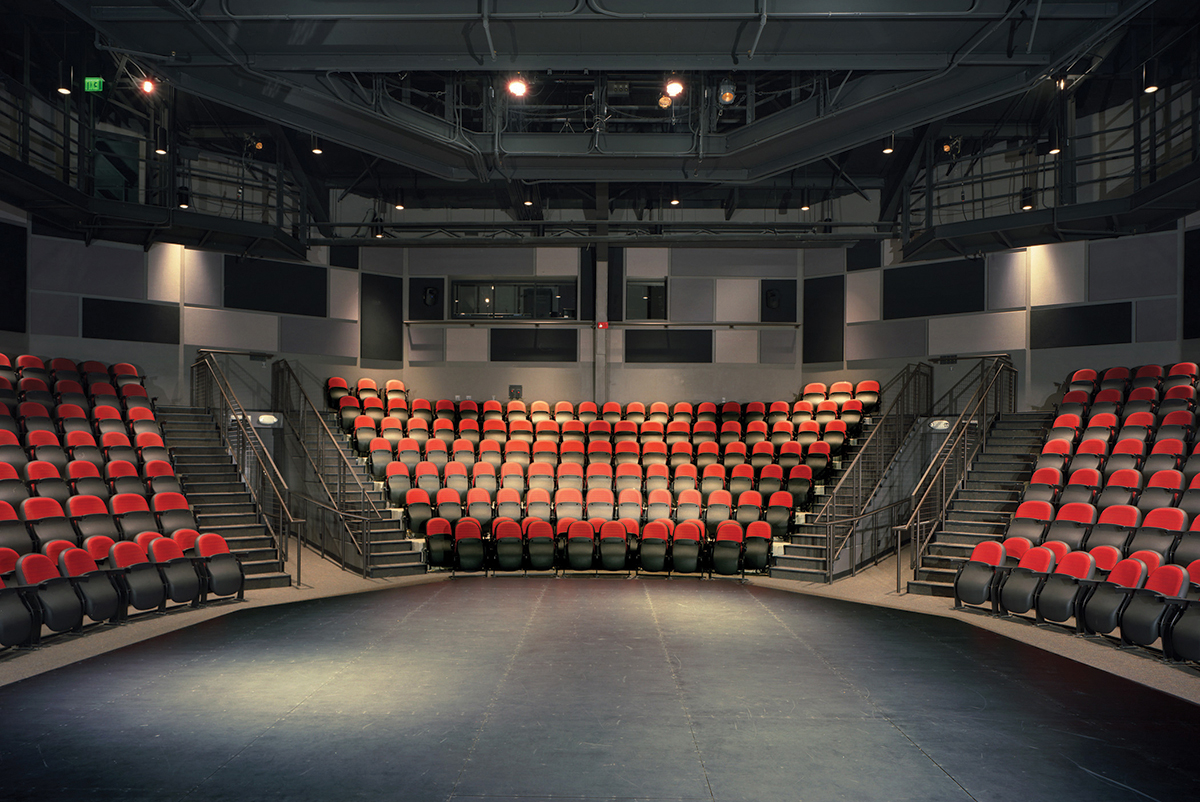 University Theatre seating pictured